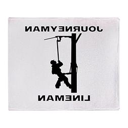 journeyman lineman soft fleece throw