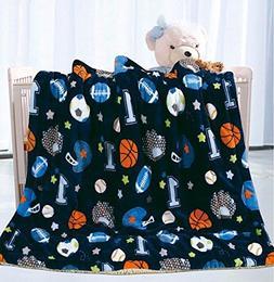 Elegant Home Kids Soft & Warm Sherpa Baby Toddler Boy Sherpa