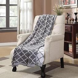 Bedsure Knitted Throw Blanket 100% Acrylic Soft Couch Cover