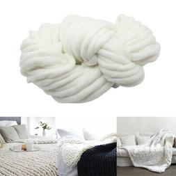 Knitted Throw Blanket Soft for Couch Bed Cover 20x20inch COM