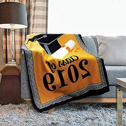 "Kovot 2018 Graduation Throw Fleece Blanket Class Of 2019"" Gi"