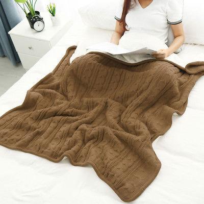 100% Cotton Home Decor Throw Blanket