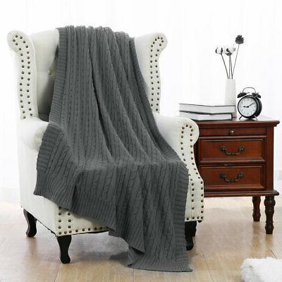 100% Blanket Soft Warm Throw Home