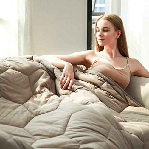100 percent cotton weighted blankets adult 20