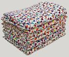 10Pc Wholesale Lot Kantha Quilt Twin Queen Size Bedsheet Thr