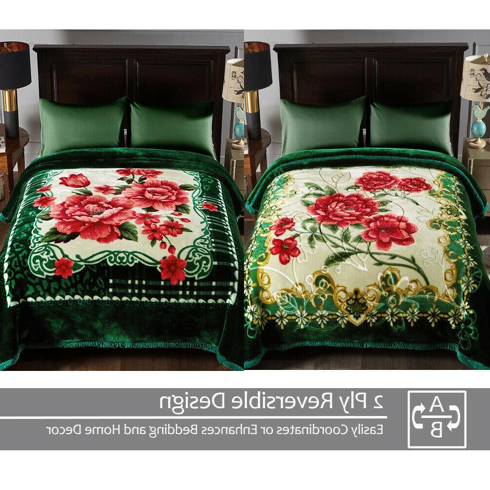 "10LB Ply Blanket Soft Warm Sided 85"" x"