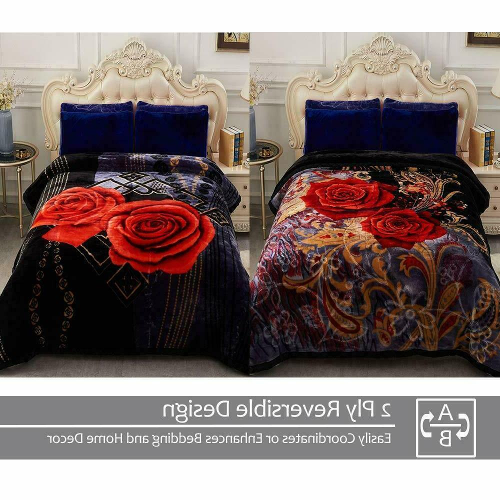 """10LB Blanket Soft Warm Bed throw Double Sided 85"""""""