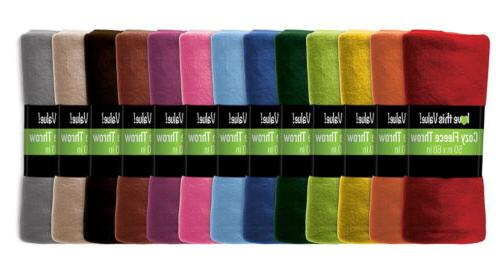 premium 50 x 60 soft warm cozy