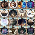3D Animal Hippie Round Tapestry Beach Microfiber Towel Throw