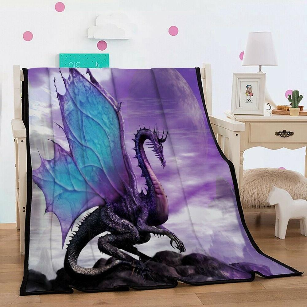 3d animal purple alien dragon super soft