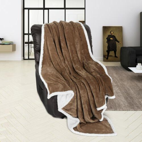 5-Color 60x80'' Throw Soft Cozy Warm Fuzzy