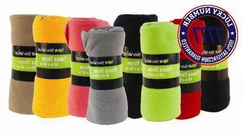 50 x 60 inch ultra soft fleece