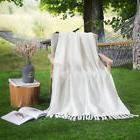 50x60 Throw Blanket 100% Cotton Soft All Season Blanket for