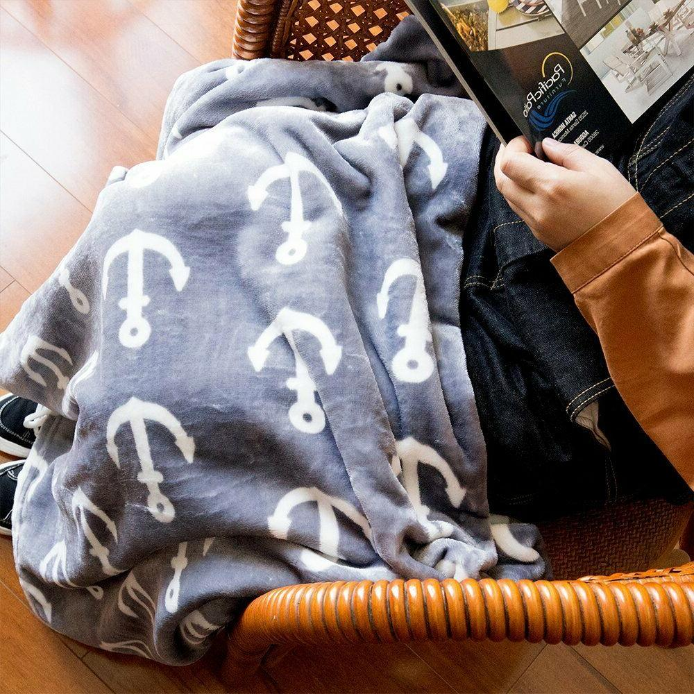 Throw Blanket Soft Fleece For Couch Bed 50