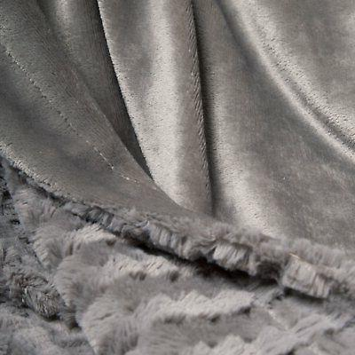 "Bedsure Faux Blanket Fleece Bed 50""x60"" Soft"