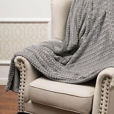 "Bedsure Blanket 50""x60"" Solid Soft"