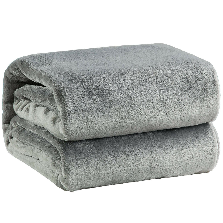 Bedsure Flannel Blanket Blanket Bed Blanket Microfiber