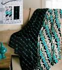 Black & Teal Throw Blanket Soft Plush Boxed Gift Set of 2 Ch