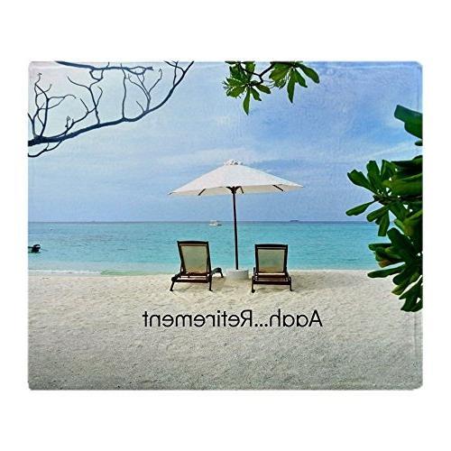CafePress - Aaah...Retirement, Tropical Beach Sc - Soft Flee