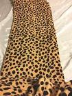 Cheetah Animal Print Blanket Bedding Throw Fleece Queen Supe