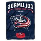 """Columbus Blue Jackets Throw Blanket 60x80 """"Inspired"""" Officia"""