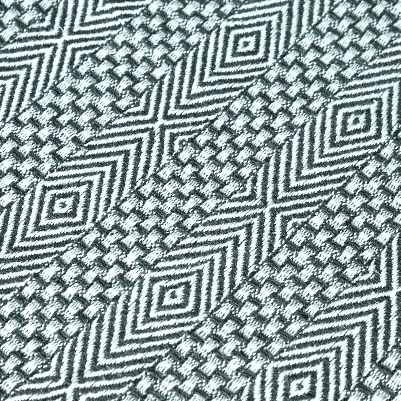 Cotton Gray Tassel Throw Woven Warm Throw Blanket 60