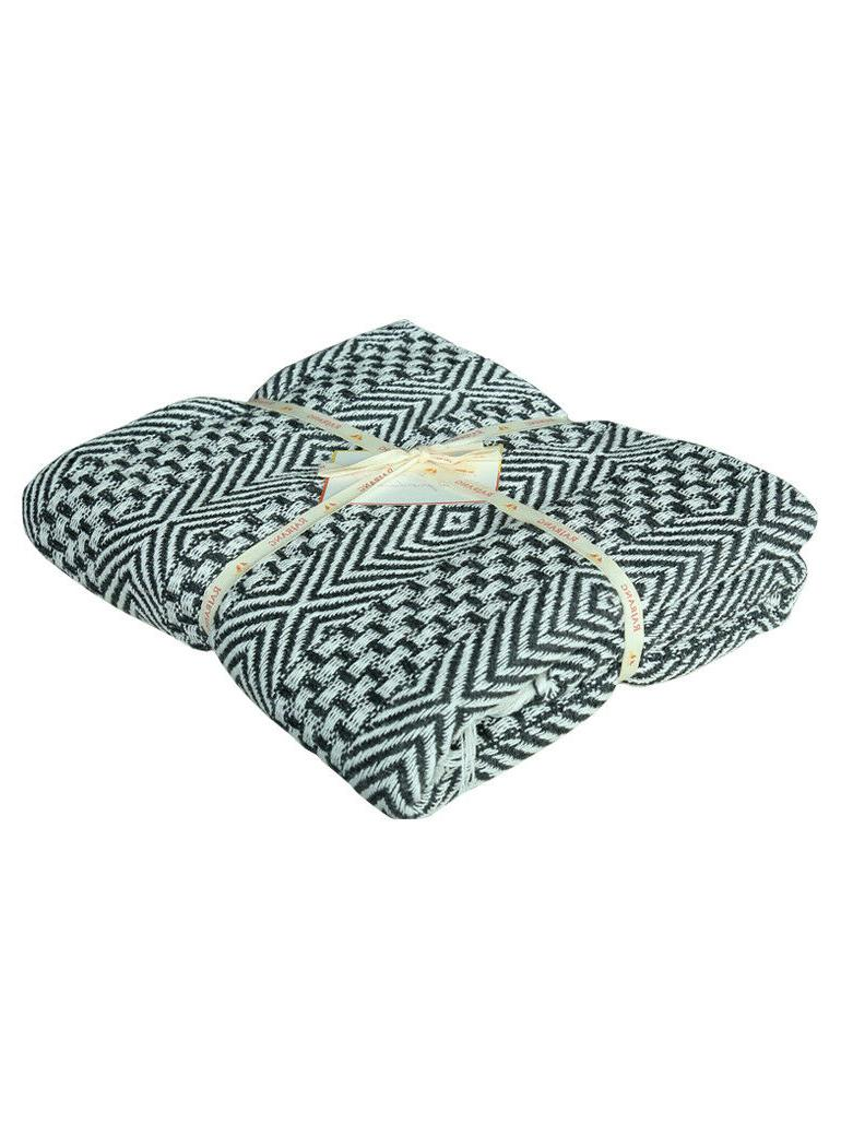 Cotton Gray Tassel Throw Woven Soft Warm Blanket 50 60