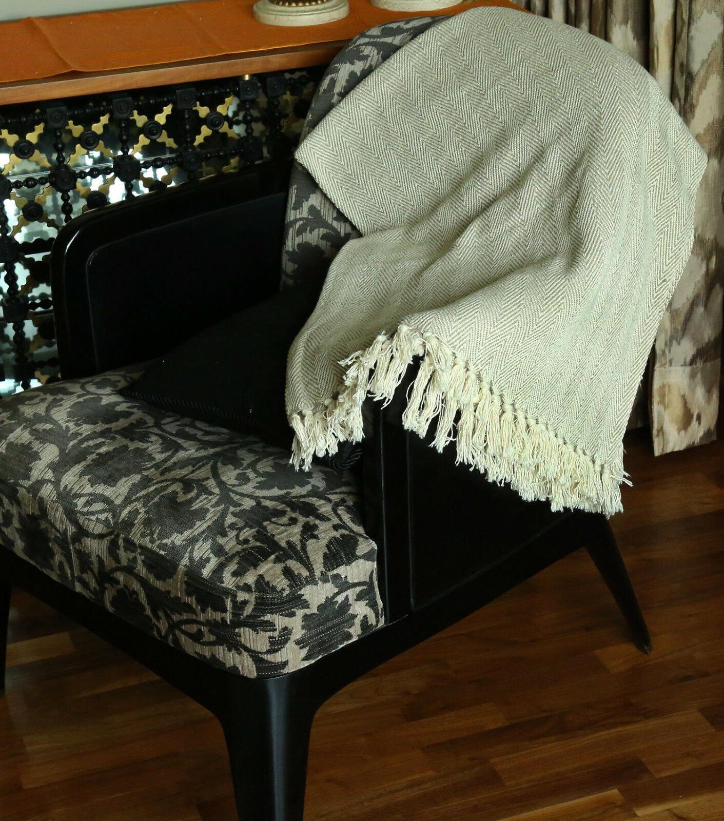 Cotton Soft Warm Luxury Throw
