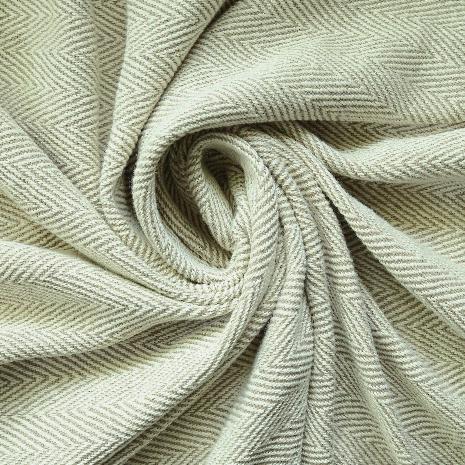 Cotton Tassel Throw Woven Soft Warm Reversible Throw Blanket