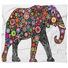 East Urban Home Animal Cheerful Elephant Blanket