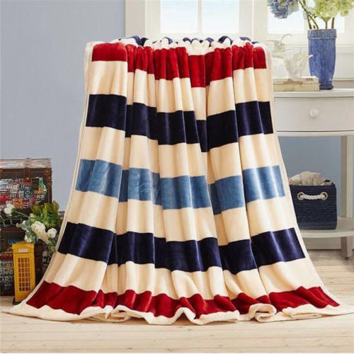Flannel Throw Bedding Queen Colors