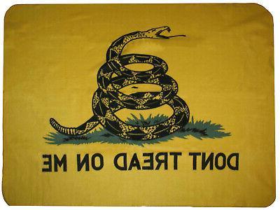 "Gadsden Culpeper Tea Party ""Don't Tread on me"" 50x60 Polar F"