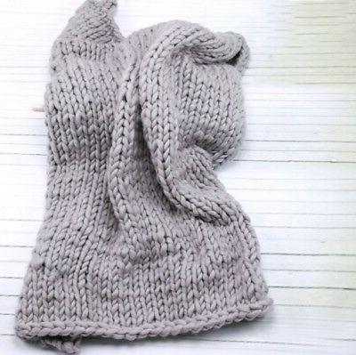 Handmade Large Chunky Knit Bulky Knitted