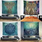 Indian Mandala Tapestry Wall Hanging Blanket Bedspread Ethni