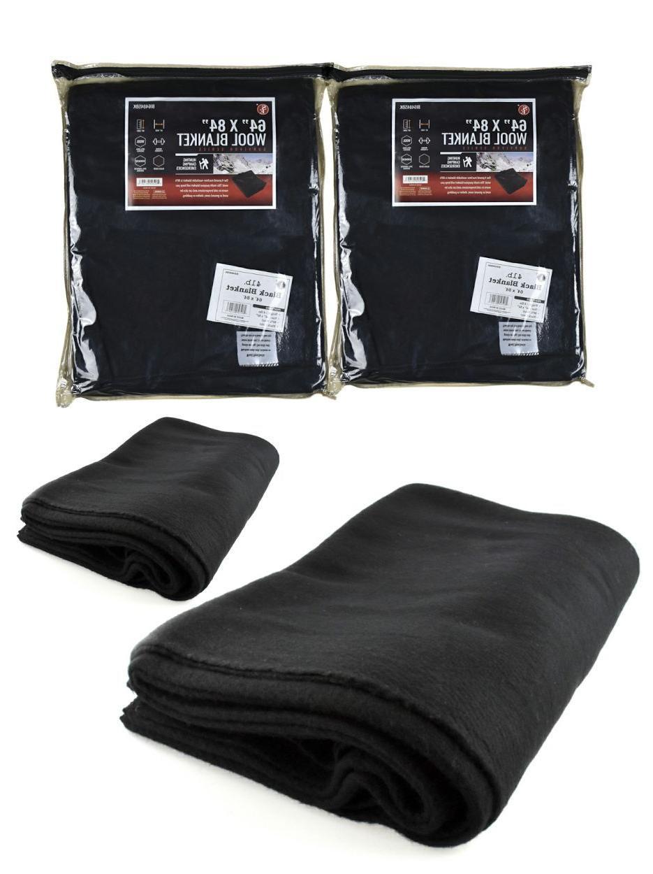 LOT Military Wool Blanket 80% NEW