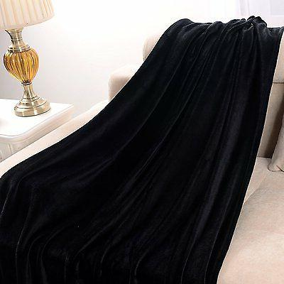 Luxury Throw Blanket x Black Exclusivo Mezcla
