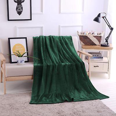 "Luxury Flannel Velvet Plush Throw Blanket - 50"" x 70""  by"