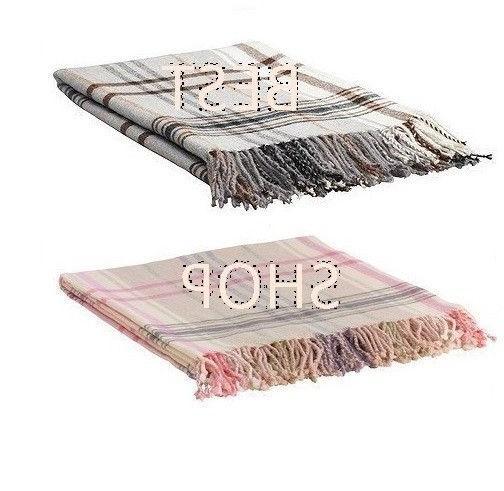 NEW IKEA Hermine Throw Bedding Decor Blanket Cover