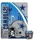 "NFL DALLAS COWBOYS 60""x80"" FLEECE THROW BLANKET & STADIUM AP"