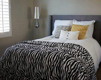 "Bedsure Sherpa Throw Blanket 90""x72"" Fuzzy Bed Throws Fleece"