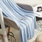 New Knitted Wool Blanket 85*140cm Nordic Simple Cotton Yarn