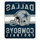 New Northwest NFL Dallas Cowboys Soft Fleece Throw Blanket 5