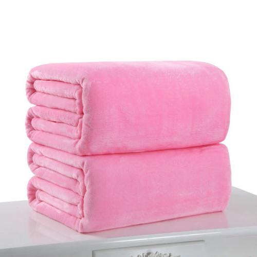 New Super Plush Bedding Soft Warm Throw Rug Sofa