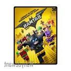 New The Lego Batman Movie Fantasy Action Soft Fleece Throw B