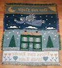 New  Throw Blanket 56 x 50 Bless This House With Love 100% a
