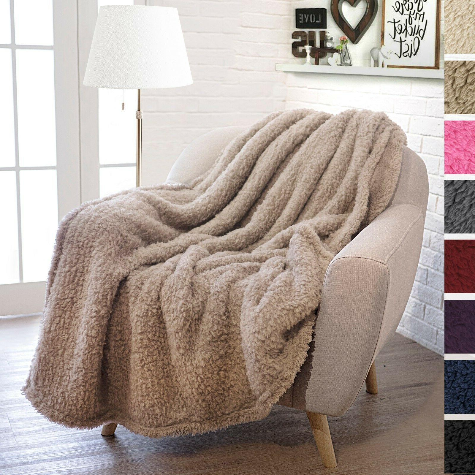 PAVILIA Fuzzy Sherpa Throw