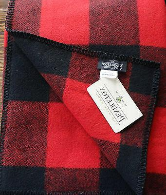 Pendleton Wool Blanket King Size NWT Washable Rob RoyTartan