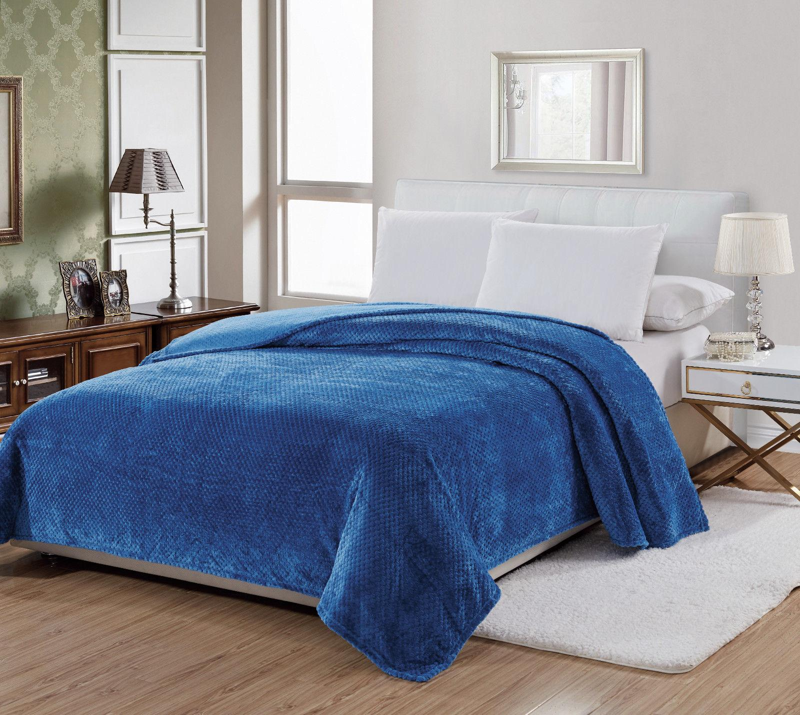 Premium Plush Throw Blanket Assorted &