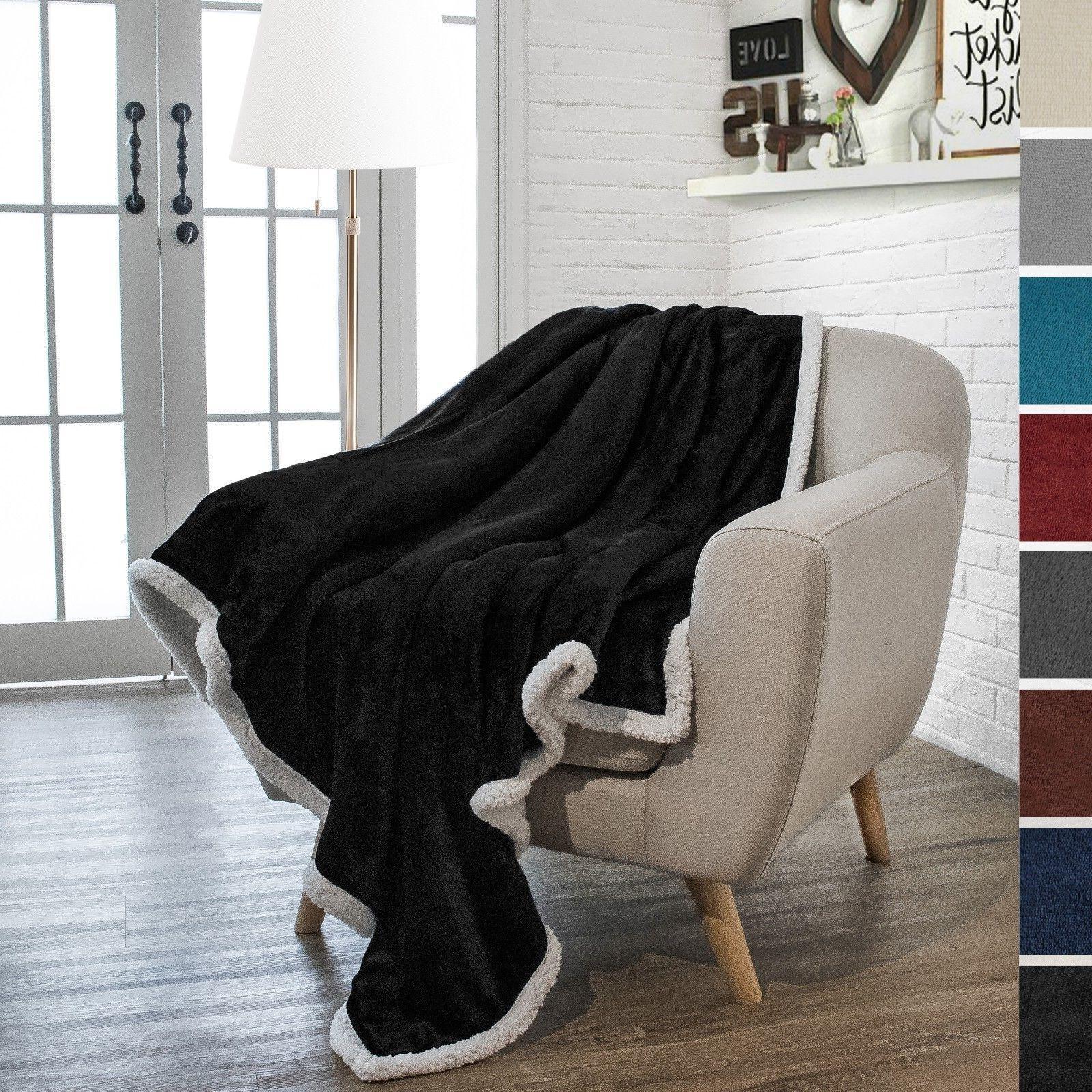 Premium Sherpa Blanket by Pavilia x Fleece