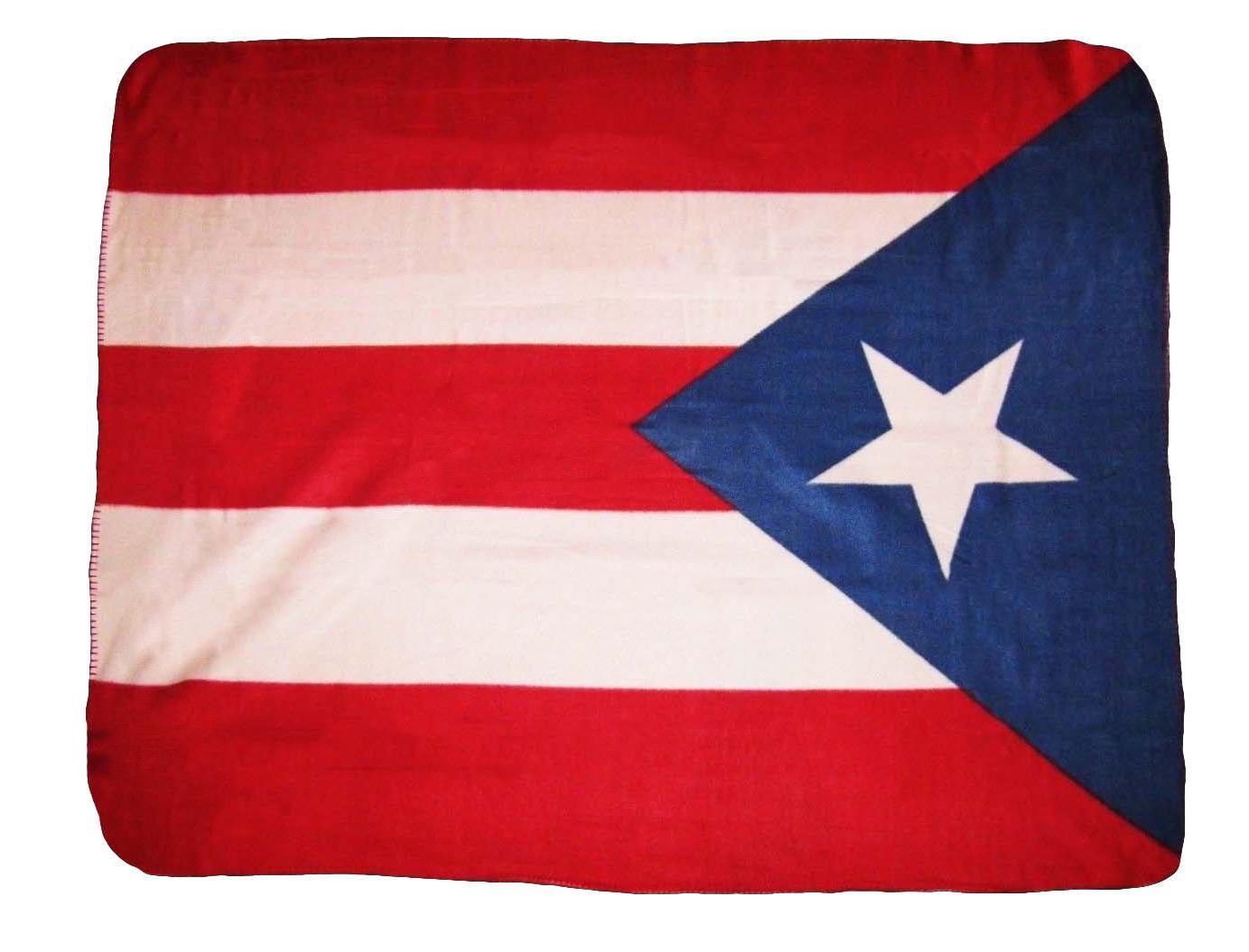Puerto Rico Rican Country Flag 50x60 Polar Fleece Blanket Th